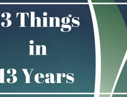 13 Things We've Learned in 13 Years of Practice