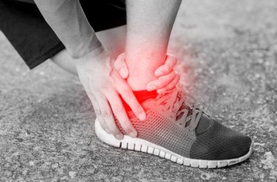 runner ankle sprain
